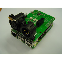DMX interface for Raspberry pi with usb (FT245RL)