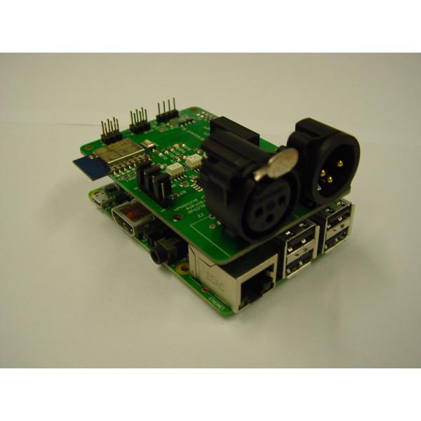 DMX interface for Raspberry pi with Wifi