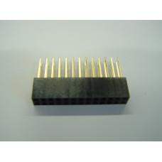 Header, Female, 26 Pin, Long