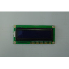 16x2 White on blue LCD