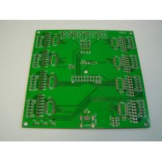 RGB clock - bare PCB