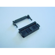IDC Connector, Female, 16 pin