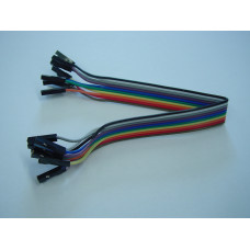 Jumper Cables F-F, 20cm, 10 pcs.