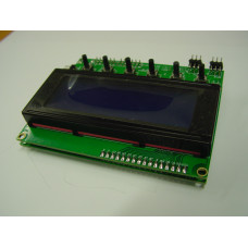 Raspberry Pi User Interface with 20 x 4 LCD